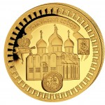 "Gold Coin USPENSKI-CATHEDRAL 2011 ""Moscow Kremlin"" Series, Liberia - 5 oz"