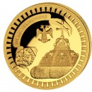 "Gold Coin TSARS-HAT 2011 ""Moscow Kremlin"" Series, Liberia - 5 oz"