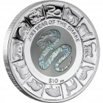 "Silver  Coin CHINESE SNAKE 2013 ""Lunar"" Series"