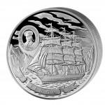 """Silver Coin """"SEDOV TALL SHIP"""" 2008, Cook Islands - 100 oz"""