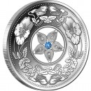 Silver Coin FLOWER FILIGREE 2012