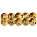 """Golden Monuments"" 2012 Ten Gold Coin Set"