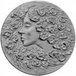 "Silver Coin SPRING 2012 ""Seasons of the Year"" series with Ultra High Relief"