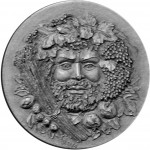 "Silver Coin AUTUMN 2012 ""Seasons of the Year"" series with Ultra High Relief"