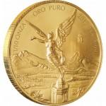 Mexican Libertad Gold Bullion Coin 2012 - 1/10 oz