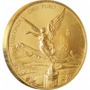 Золотая инвестиционная монета Мексиканский Либертад - 1/20 унции