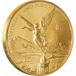Mexican Libertad Gold Bullion Coin 2012 - 1/2 oz