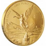 Золотая инвестиционная монета Мексиканский Либертад - 1/2 унция