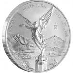Silver Bullion Coin MEXICAN LIBERTAD 2012 - 1 oz