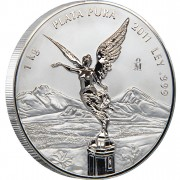 Silver Coin MEXICAN LIBERTAD 2012 Proof Like, Mexico - 1 kilo