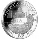 "Silver Coin ASIA 2011 ""The Five Continents of the World"" Series"