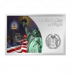 "Silver Coin NEW YORK AT NIGHT 2012 ""Cities at Night"" Series"