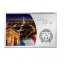 "Silver Coin PARIS LA NUIT 2012 ""Cities at Night"" Series"