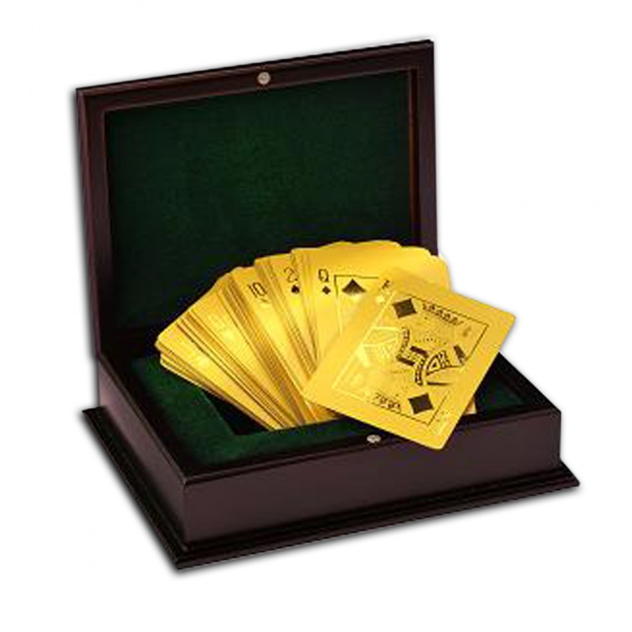 GOLDEN POKER Cards Set