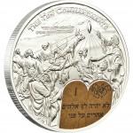 """Silver Coin 10 COMMANDMENTS 2011 """"Ten Commandments"""" Series"""