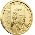 Gold Coin FREDERIC CHOPIN 2008