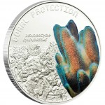 "Silver Coin DENDROGYRA CYLINDRICUS 2011 ""Coral Protection"" Series"