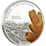 "Silver Coin APLYSINA FISTULARIS 2011 ""Coral Protection"" Series"