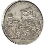 "Silver Coin 2ND CRUSADE: LOUIS VII OF FRANCE 2009 ""History of the Crusades"" Series"