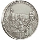 "Silver Coin 4TH CRUSADE: DANDOLO OF VENICE 2010 ""History of the Crusades"" Series"
