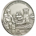 "Silver Coin 5TH CRUSADE: JOHN OF BRIENNE 2011 ""History of the Crusades"" Series"