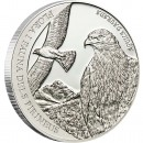 "Silver Coin GOLDEN EAGLE 2011 ""Pyrenees Wildlife"" Series"