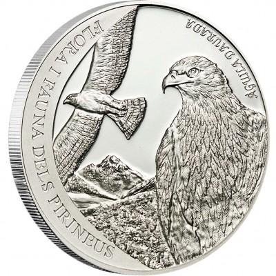 """Silver Coin GOLDEN EAGLE 2011 """"Pyrenees Wildlife"""" Series"""
