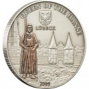 "Silver Coin LUBECK (GERMANY) 2009 ""Hanseatic League Sea Trading Route"" Series"