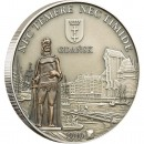 "Silver Coin GDANSK (POLAND) 2009 ""Hanseatic League Sea Trading Route"" Series"
