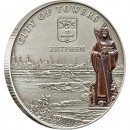 "Silver Coin ZUTPHEN 2010 ""Hanseatic League Sea Trading Route"" Series"