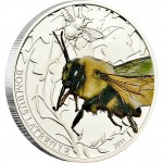"Silver Coin BOMBUS 2011 ""World of Insects"" Series"