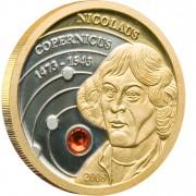 Золотая монета  НИКОЛАЙ КОПЕРНИК 2008