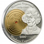 Silver Coin NICOLAUS COPERNICUS 2008