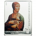 "Silver Coin DA VINCI - LADY WITH ERMINE 2009 ""Masters of Europe"" Series"