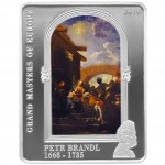 "Silver Coin PETR BRANDL 2010 ""Masters of Europe"" Series"