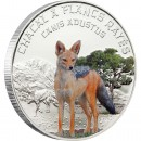 "Silver Coin SIDE STRIPED JACKAL 2012 ""Predator Hunters"" Series"