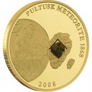 Gold Coin METEORITE PULTUSK 2008