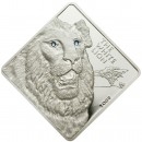 "Silver Coin WHITE LION 2009 ""Rare Wildlife"" Series - 2 oz"