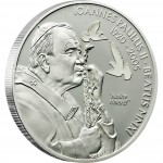 "Silver Coin BEATIFICATION OF JPII 2011 ""Religious People"" Series"