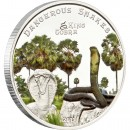 "Silver Coin KING COBRA 2011 ""Dangerous Snakes"" Series"