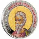 "Cu-Ni Silver-Plated Coin ST. THADDEUS 2009 ""Single Issues"" Series"