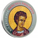 "Cu-Ni Silver-Plated Coin  ST. PHILIP 2009 ""Single Issues"" Series"