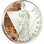 "Silver Coin ZENOBIA 2011 ""Greatest She Warriors"" Series"