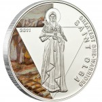 "Silver Coin SAINT OLGA 2011 ""Greatest She Warriors"" Series"
