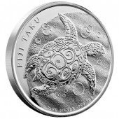 FIJI TAKU 2012 SILVER BULLION COIN - 1 OZ