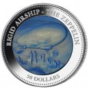 ZEPPELIN Silver Coin Mother of Pearl 2013, Proof, Cook Islands - 5 oz