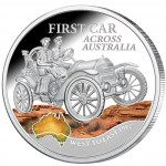 Silver Coin FIRST CAR ACROSS AUSTRALIA 2012