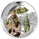 Silver Coin VIETNAM WAR 50TH ANNIVERSARY 2012 - 5 oz