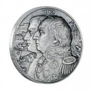 Silver Coin KUTUSOW - NAPOLEON 2012, Niue - 2oz