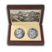 """Kutusow - Napoleon"" Two Silver Coin Set 2012, Niue"